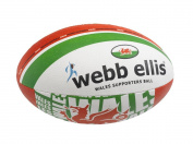 Webb Ellis Wales Souvenir Item Supporter Ball - Green, Size 5