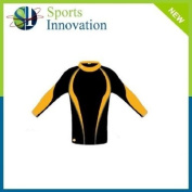 Baselayer Top - Black/Amber- Size S