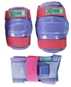 Knee Pads, Elbow Pads and Wrist Guards - Childs Triple Set - Lilac