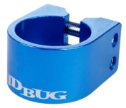 JD Bug Pro Double Collar Scooter Clamp - Blue