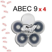 Enuff ABEC 9 bearings x4 fast/smooth scooter replacement