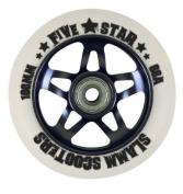 Slamm Five Star Alloy Core Scooter Wheel - Black