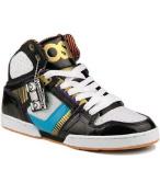 Osiris Skateboard Shoes Bronx Slim Ultra Black / Cyan / Orange / Ultra