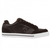 Osiris skate shoes clip Brown / White - skateboard shoes