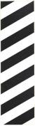 Enuff Skateboard Griptape - Black/White Hazard
