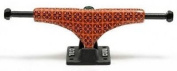 Crail Skateboard Truck Set 129 LOW LIGHT Pattern Pavement orange/black