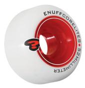 Enuff Corelites 52mm White/Red Skateboard Wheels