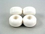 58mm Blank Wheels White