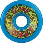 Santa Cruz Slime Balls 66mm 78a Neon Blue Skateboard Wheels