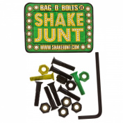 Skateboard Accessories Shake Junt Bolt yellow Green 7/8