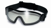 Shatterproof UV400 Clear Freefall Skydiving And Parachuting Goggles Complete With Free Pouch