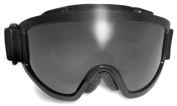 Global Vision Ski And Snowboarding Shatterproof UV400 Vented Antifog Goggles Complete With Free Pouch