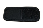 Black Neoprene Mask hook and loop Extension Piece - Adds Up To 5.1cm