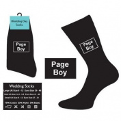 Page Boy Socks (Black) -
