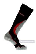 Salomon Mission Cordura Ski Socks Black Medium 5.5-7