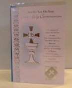 Boy's First Holy Communion Card. Boys Holy Communion Card. Boy's 1st Holy Communion Card