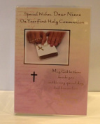 SPECIAL WISHES, DEAR NIECE ON YOUR HOLY COMMUNION CARD. NIECE 1ST HOLY COMMUNION CARD. NIECE FIRST HOLY COMMUNION