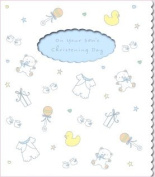 Your Son's Christening Day Greeting Card