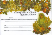 INVITATION CARD TO THE ATTEND CONFIRMATION - a pack 0f 20 sheets & envelopes