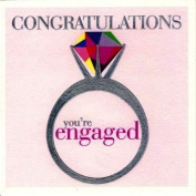 Claire Giles Engagement Card