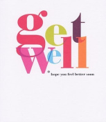 Bold Colour - Get Well Card