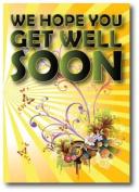Get Well Soon Card - Sunshine Designer Range - SS015