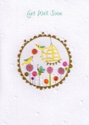 Rosies Cards Handcrafted Glitter Greeting Cards Get Well Soon Card