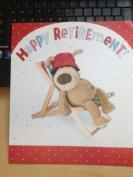 30cm x25cm LARGE Retirement card - BOOFLE Card - Happy retirement