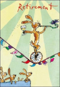 Quentin Blake - Retirement Card - New in Cello