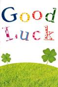Card House ' Good Luck ' Greeting Card Four Leaf Clover Lucky Cards New