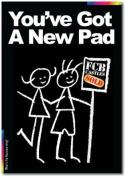 New Home Card - Chalks Designer Range - You've Got A New Pad - CK021