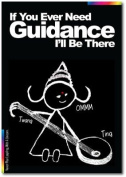 Offer Of Support Card - Chalks Designer Range - If You Need My Guidance, I'll Be There. - CK014