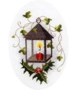Derwentwater Designs Christmas Card - Lantern