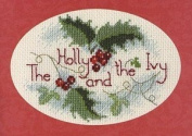 The Holly and the Ivy Greeting Card Kit - Cross Stitch Kit
