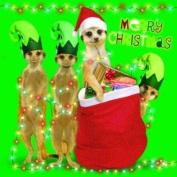 """Meerkats """"Santa and His Meery Elves"""" Festive Christmas Card Pack"""