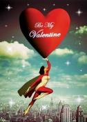 Valentines Greeting Card - Superhero - by Max Hernn
