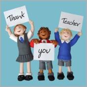 Fax Potato Greeting Card - Thank you Teacher. Thank you. - For Thank You, Good Luck,