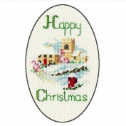 Derwentwater Designs VILLAGE Christmas Card Kit
