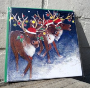 Art Beat Charity Chirstmas Cards - Reindeer Party - Pack of 6