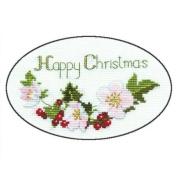 Derwentwater Designs CHRISTMAS ROSE Christmas Card Kit