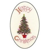 Derwentwater Designs FESTIVE TREE Christmas Card Kit