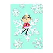 Lola Christmas Snowflake Card