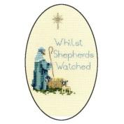 Derwentwater Designs SHEPHERD Christmas Card Kit