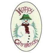 Derwentwater Designs SNOWMAN Christmas Card Kit