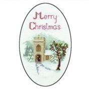 Derwentwater Designs THE CHURCH Christmas Card Kit