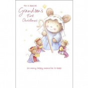 Frist Christmas Card for a Grandson