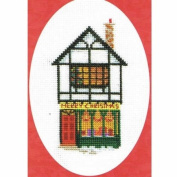 Derwentwater Designs CHRISTMAS SHOP Christmas Card Kit