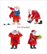 Eric Carle Grandad Christmas Card