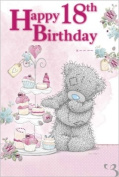 Girls Age 18 Me to You Birthday Card