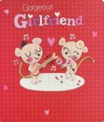 Gorgeous Girlfriend Valentine Day card